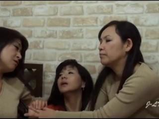Jap mature lesbian kissing omnibus