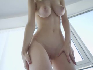 Busty Youngster Babe Mila Azul appearing her best pussy for Nudex