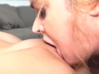 gymnast stepdaughter fucks large furry stepmom