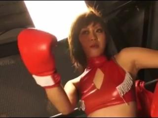 jap boxing 腹パンチリョナ