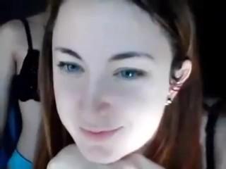 Lesbianas adolescentes en Webcam