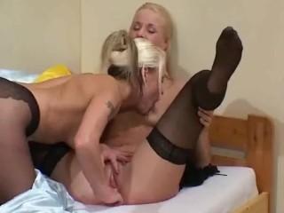 German lesbians pantyhose