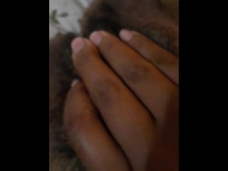 Horny Furry Pussy, cum pull & therapeutic massage my pubes