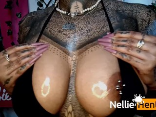 NELLIE HENTAI – MY TITS HAVE RETURNED TO THE HUB (nine MILLION VIEWS)