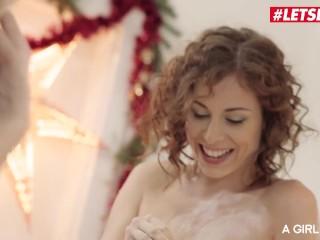 AGirlKnows – CHRISTMAS COOKIES BAKING! Nikky Dream And Antonia Sainz Busty Lesbian Intercourse – LETSDOEIT