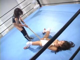 Eastern Lesbian Catfight Wresting 06