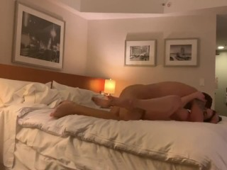 Mature MILF seduces and fucks her 18yo stepson with large cock