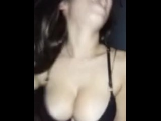 Spanish woman rides cock like a champ Snapchat: emma_diaz75