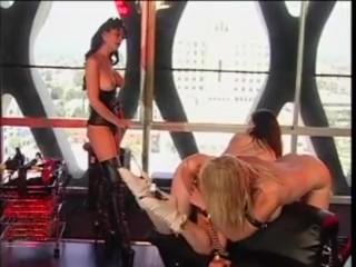 Mistress and her Lesbian Slaves