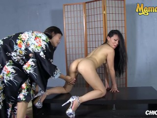 ChicasLoca – Miyuki Son And Woman Mae Eastern Babe Lesbian Fucking With Her BFF – MAMACITAZ
