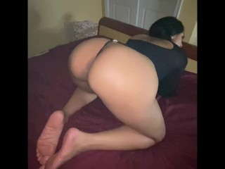 Spouse smoking speaking grimy sucking cock and gagging getting fuck and playing her blunt  deep throat