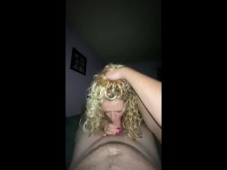 Tremendous Sizzling Blonde BJ met on Fuck Met
