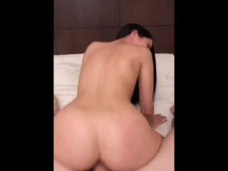 Massaged, Fucked and Pussy Creamed by means of Step-Brother (taboo creampie)