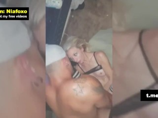 My stepbrother fucked me at the balcony and cum inside of. – Tik Tok: Giafoxy