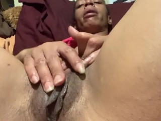 Mother stuck masturbating