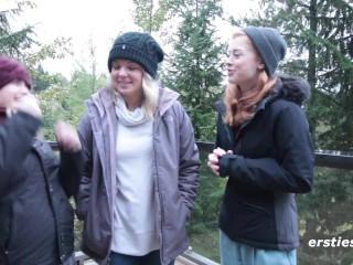 three Beginner Lesbians ! Now It is A Celebration