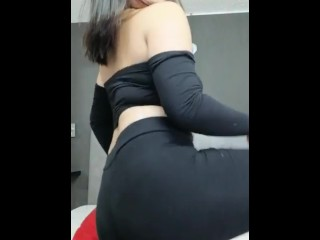 She dances attractive whilst her stepfather spies on her. Colombian lady latin
