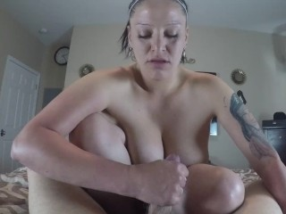 Handjob from giant titty Local American POV