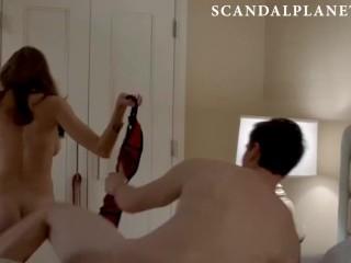 Elizabeth Masucci Nude Intercourse Scene from 'The American citizens' On ScandalPlanet.Com