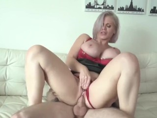 busty milf makes use of step son for sexual free up