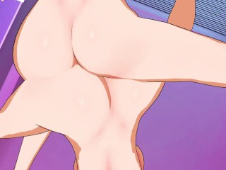 Sword Artwork On-line – Silica X Lisbeth Yuri Hentai