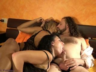Slut Viene Usata Da Coppia Perversa Consistent with i Loro Giochi Porno Double Domination Audio Italiano FemDom