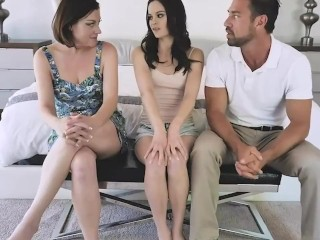 badmilfs – husband and spouse fuck the maid