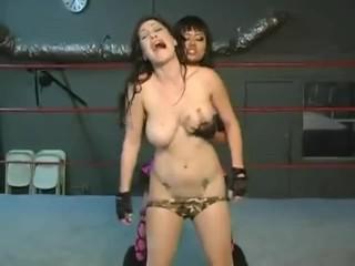Tremendous Lesbians humping ass