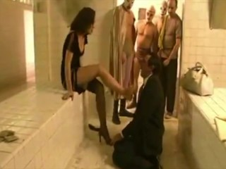 Spanish girl foot worship humiliation