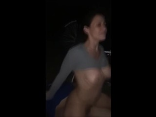 A couple of Orgasm Attractive MILF Cowgirl Using