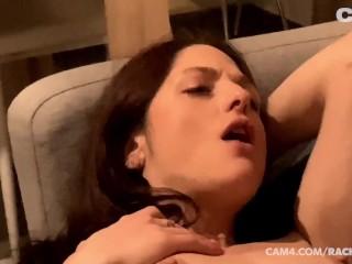 Interracial lesbian fuck licking clit masturbating intercourse toys | CAM4