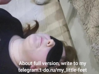 My female friend – foot slut!