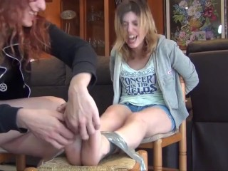 Spanish ties/ tickle spanish woman