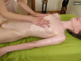 First time pussy therapeutic massage for Domna