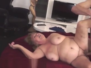 Bigtits grandma pounded after a therapeutic massage