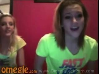 two women having a laugh omegle
