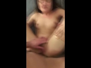 Lovable Youngster Cumming such a lot laborious with my cock