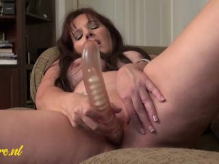 American Novice MILF Performs With Her Giant Herbal Knockers And Extra!