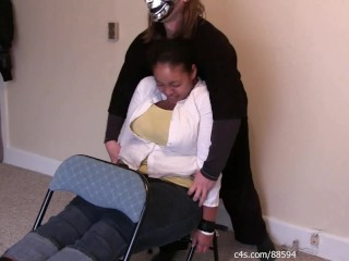 ebony chair tickle