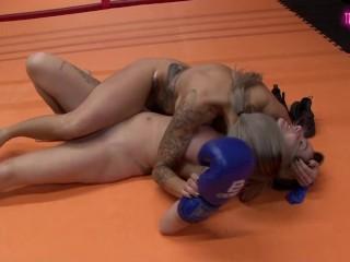 Mel vs Sonia from feminine srestling