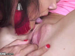 21Sextreme Attractive Lylyta Yung Desires To Assist Mature Lesbian Orgasm With Laborious Pussy Fingering