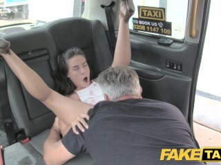 Faux Taxi Attractive versatile American sweetheart
