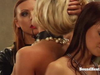 Two Scorching Lesbian Women Appearing Off For Madame