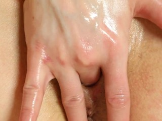 Excessive closeup Kira masturbare whilst have intercourse with boy and woman.