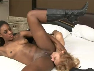 Black Lesbians Dominating White Women – Interracial Tune Compilation – PMV