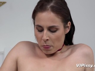 Attractive Brunettes Revel in Some Piss Cocktails!