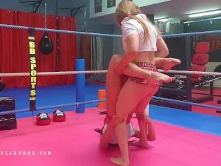Horny Wrestling Feminine – oXfighterz – Tanya, Vixen, Nikita, Ruth, Antscha