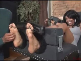Ebony Toetied Tickle 1