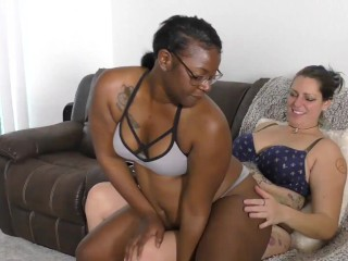 Black Good looks NaeJae with Giant Booty grinds (interracial)