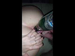 fucked lesbian with a large ass in a dumber